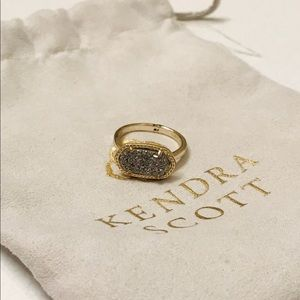 Kendra Scott druzy ring